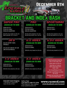 Events for January 5, 2019 – Emerald Coast Dragway