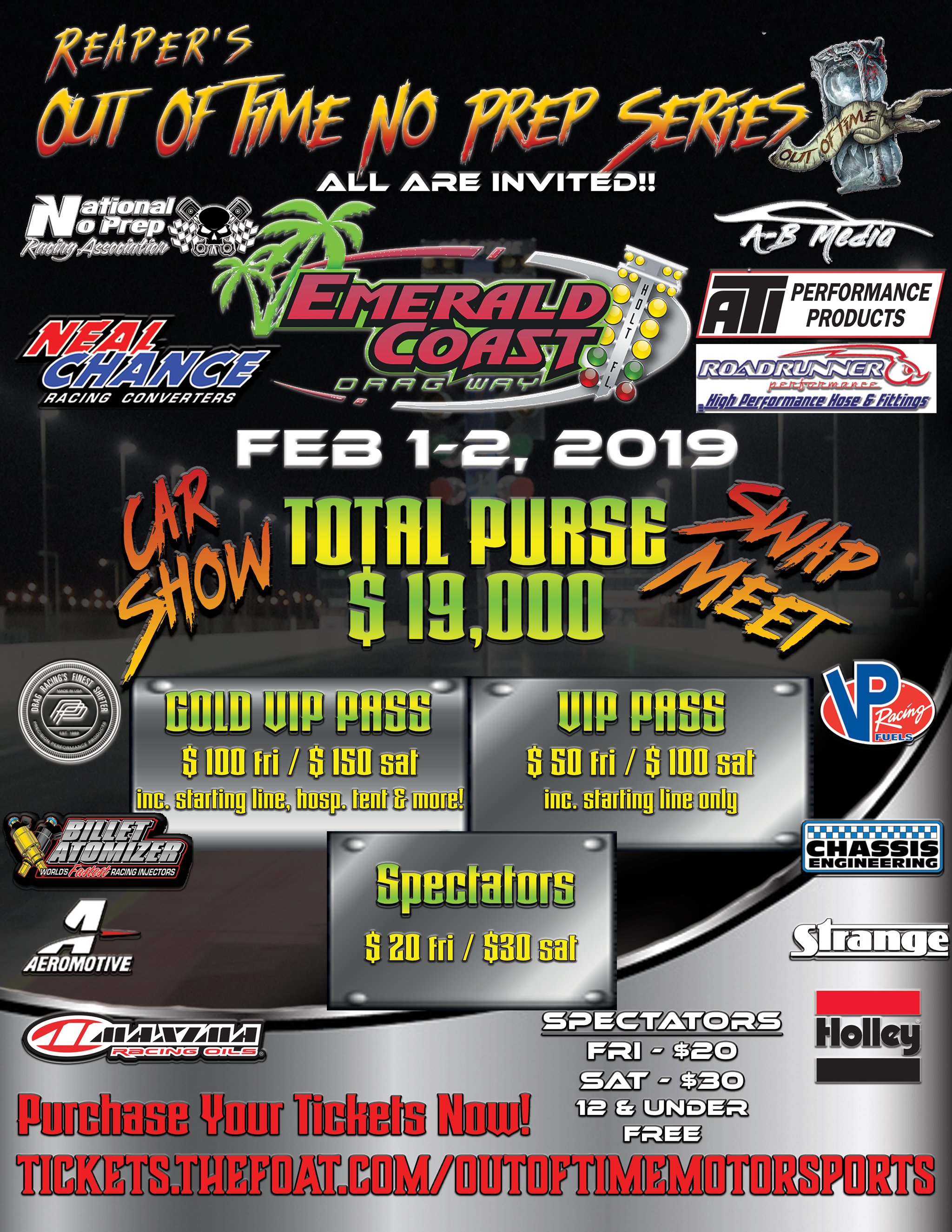 OUT OF TIME NO PREP SERIES – Emerald Coast Dragway
