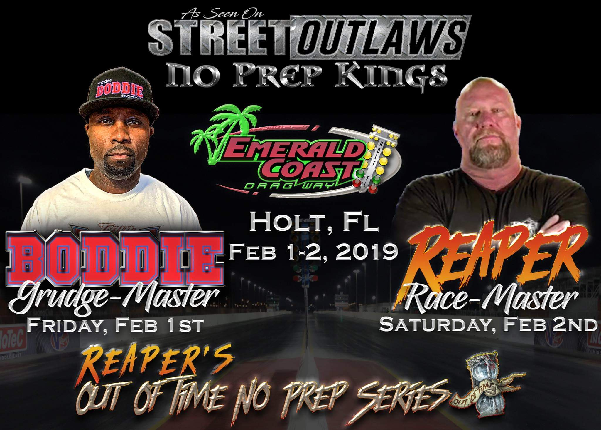 OUT OF TIME NO PREP SERIES THIS WEEKEND! – Emerald Coast Dragway